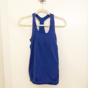 Ivivva Blue Double Layer Tank Top